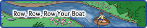 Row Row Row Your Boat Small