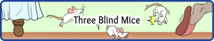 Three Blind Mice Small