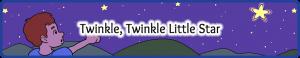 Twinkle Twinkle Little Star Small